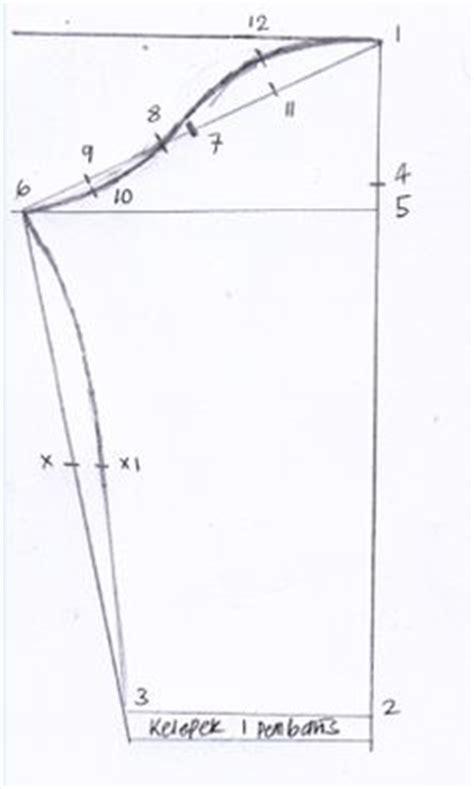 pattern lengan baju baju kurung pahang riau pola jahitan baju sewing tips