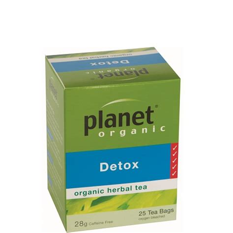 Detox Tea Nz by Buy Planet Organic Detox Tea 25 Tea Bags