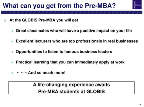 Pre Mba by Pre Mba Orientation Handout October 2014