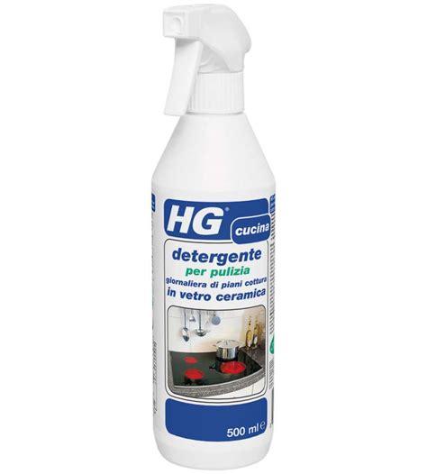 piano cottura ceramica hg detergente per pulizia giornaliera di piani cottura