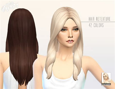 sims 4 cc hair miss paraply kiara 24 oblivion hairstyle retextured