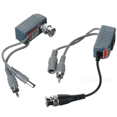 Cctv Via cctv via cat 5 twisted pair audio power balun