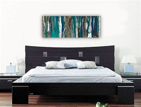 art for the bedroom large wall art print abstract landscape tree canvas long