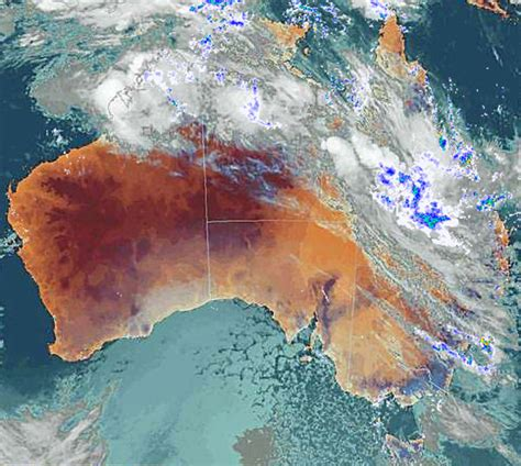 meteorology bureau australia central s drenching abc queensland