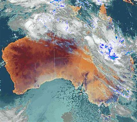 meteorology bureau australia central s drenching abc queensland
