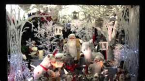 christmas shop window display 2014 at hocknells florist