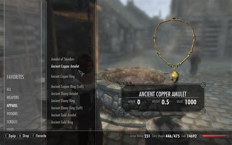 craftable dawnguard jewelry at skyrim nexus mods