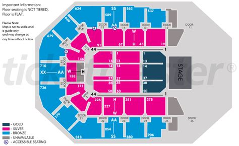 layout of vector arena mgm grand concert seating related keywords mgm grand