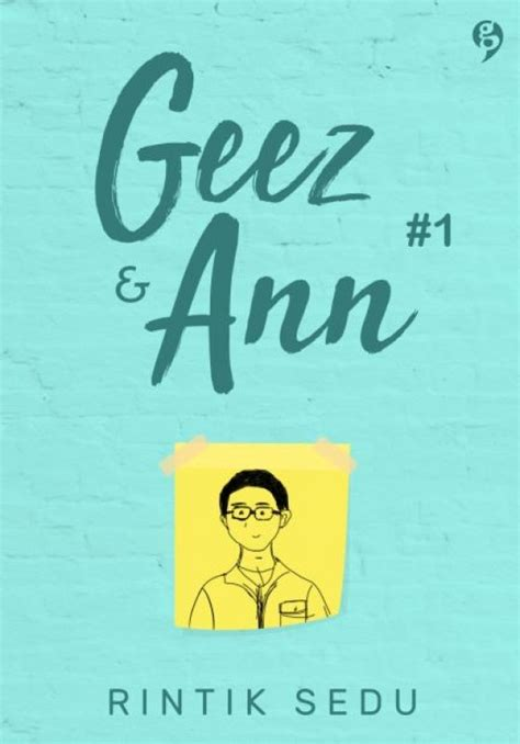 Geez 1 By Rintik Sedu bukukita geez 1 edisi ttd notes catatan