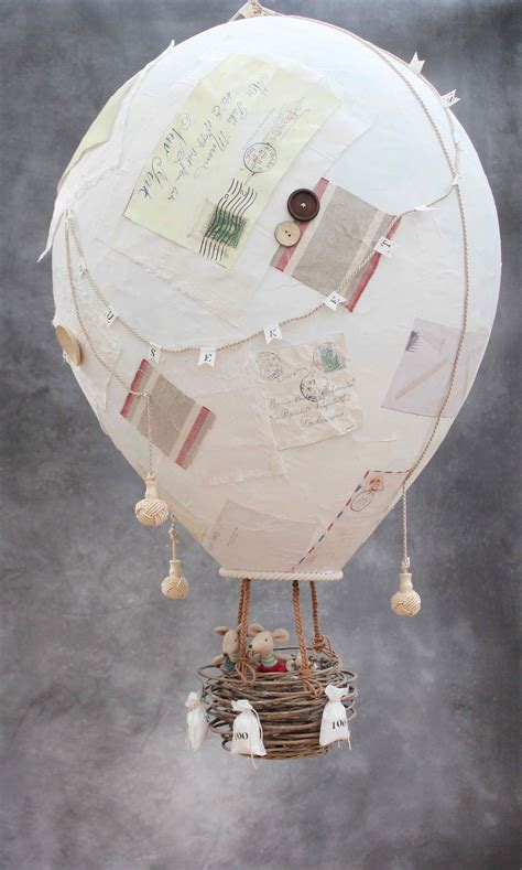Make Paper Balloon - allez les mouseketeers or how to make a papier