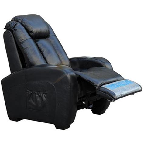 home theater leather power recliners with shiatsu massage