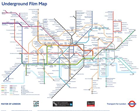 the underground map underground map poster transport museum shop