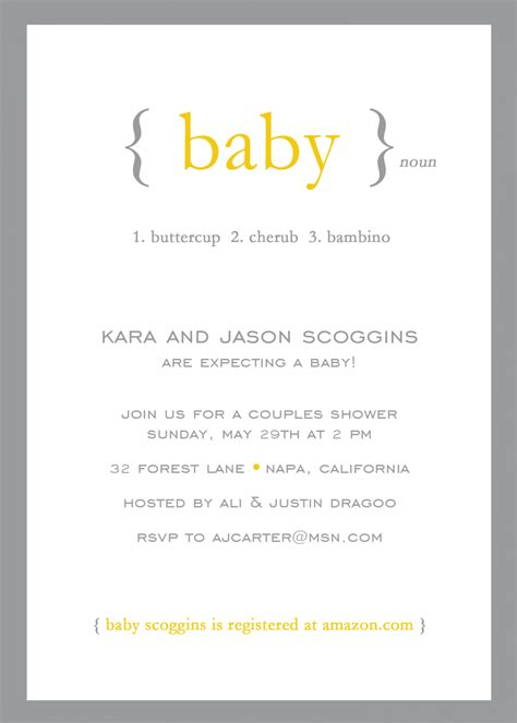 neutral baby shower wording for invitations gender neutral shower invitations invitations for