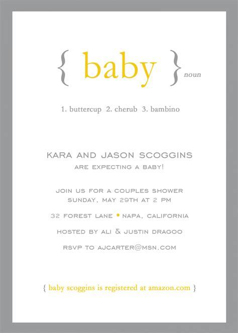 Gender Neutral Baby Shower Invitations Wording by Gender Neutral Shower Invitations Invitations For