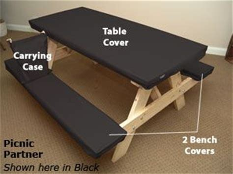 fitted picnic table and bench covers picnic table covers table covers and picnic tables on pinterest