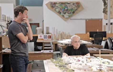 mark zuckerberg s new facebook headquarter makes him facebook creates the biggest office designed by frank gehry