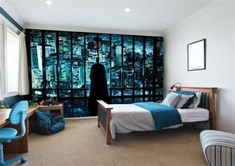 boys bedroom wallpaper minimalist teenage boy bedroom ideas with batman mural