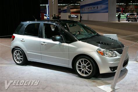 Suzuki Sx4 Custom 2009 Suzuki Sx4 Performance Concept Information