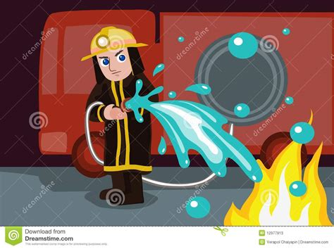 How To Extinguish A Fireplace by Water To Extinguish Stock Photos Image 12977913