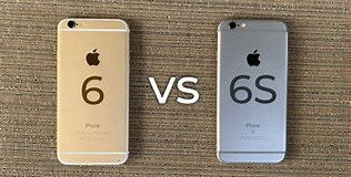 Image result for difference iphone 6 vs 6s