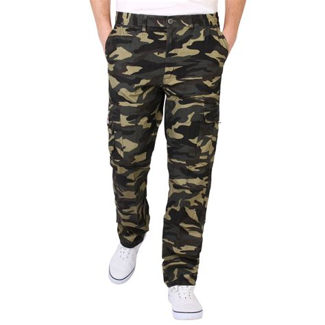 Treillis Carhartt by Mens Combat Army Camouflage Cargo Trousers