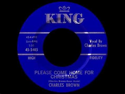 charles brown quot come home for quot 1960