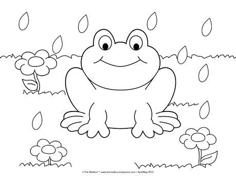 coloring pages preschool spring 464 best thema kikker images on pinterest frogs frog