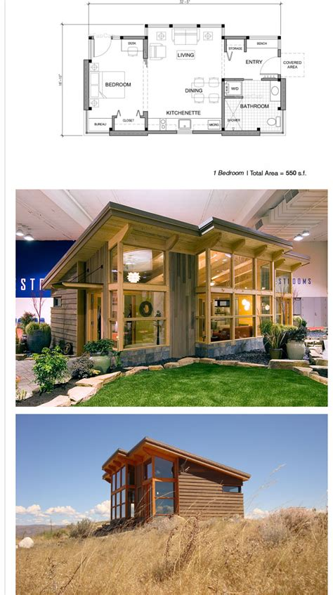 Small Home Plans With View Tiny House For The Woods Design For A View All