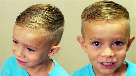 HOW TO CUT BOYS HAIR // Trendy boys haircut tutorial   YouTube