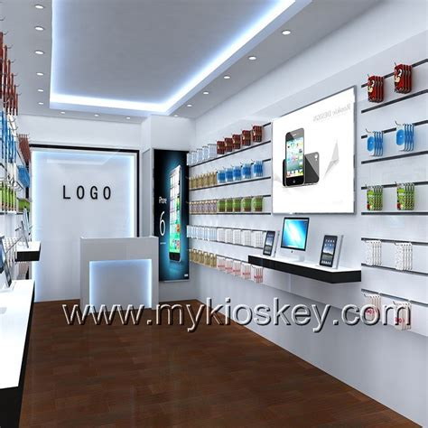 customized mobile phone shop decoration cell phone retail