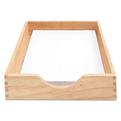 stackable desk trays advantus 07211 carver hardwood stackable desk trays