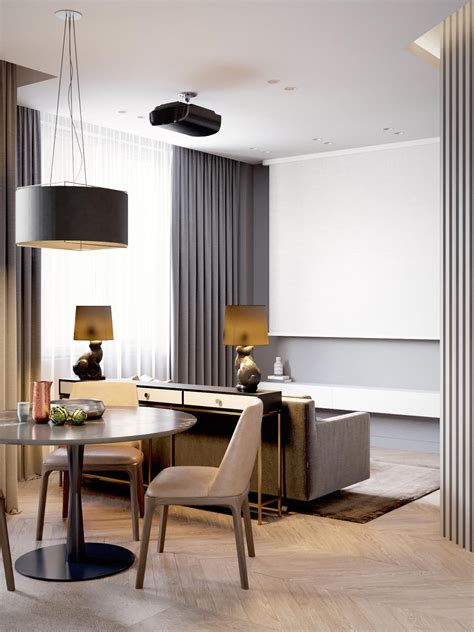 56 sqm small apartment interior design with luxury modern home design 60 square meters 3 exles that
