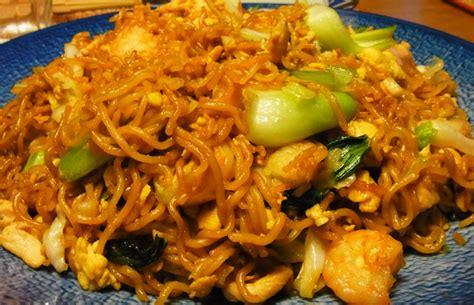resep membuat oseng mie goreng resep cara membuat mie goreng chinese halal dan lezat