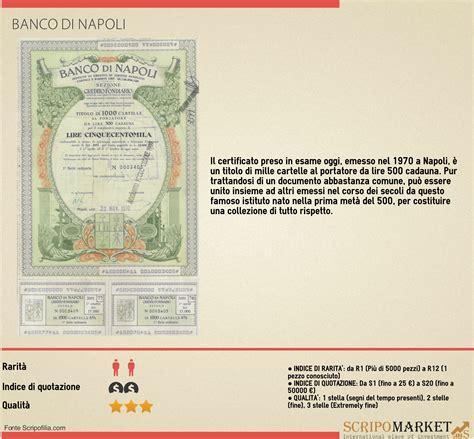link banco di napoli storia delle banche italiane banco di napoli scripomarket