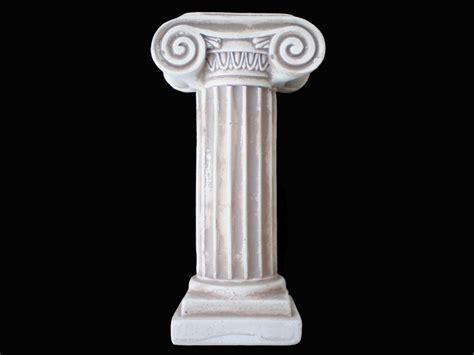 Column L by Ancient Ionic Order Column Sculpture Artifact Ebay