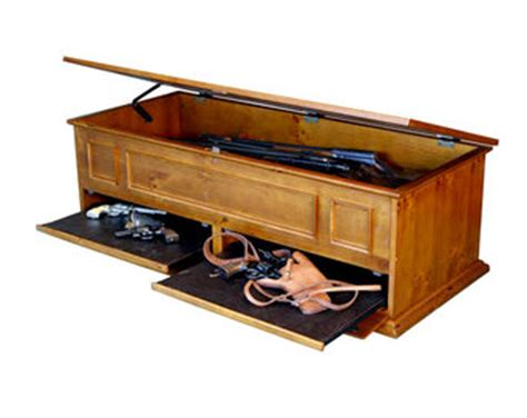 Coffee Table Gun Safe Stashvault Coffee Table With Secret Compartment For