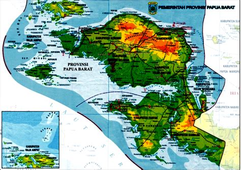 beautiful tambrauw letak geografis
