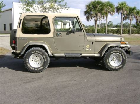 Jeep Wrangler Doors For Sale 1989 Jeep Wrangler With Top Doors Low