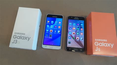Samsung J3 Vs J5 Test Comparatif Samsung Galaxy J3 2016 Vs Samsung Galaxy