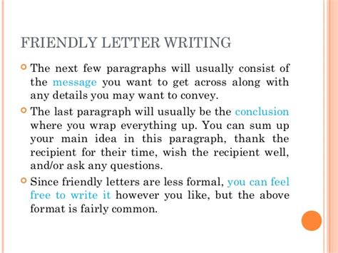 Introduction To Letter Writing Ks1 Letter Writing Communication Skills