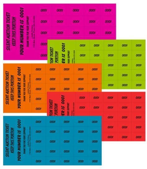 printable auction tickets labelle printers your one stop winnipeg print shop