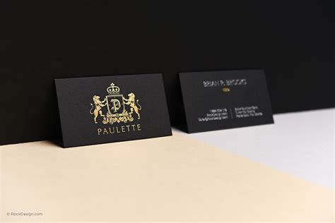explore black business card templates rockdesign com