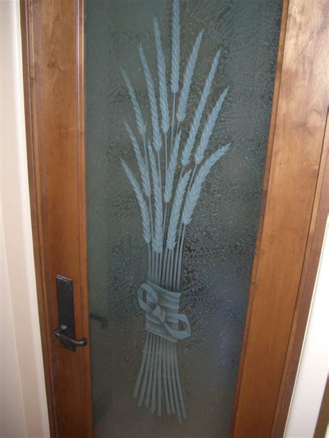 Pantry Doors With Etched Glass by Pantry Door Glass Etched Carved By Sans Soucie Sans