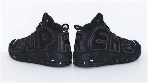 Nike Uptempo Supreme supreme nike air more uptempo release date only sole collector