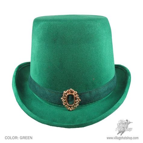 elope leprechaun top hat deluxe novelty hats view all