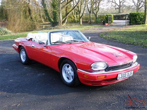 jaguar xjs 4 0 convertible xjrs 6 0 facelift exceptional