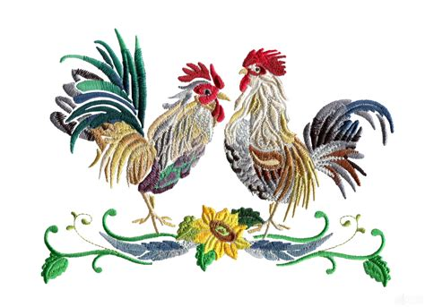 embroidery design rooster swnrr123 rooster embroidery design