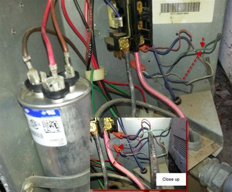 fan capacitor for ac unit york h1ra042s06d home ac issues doityourself community forums