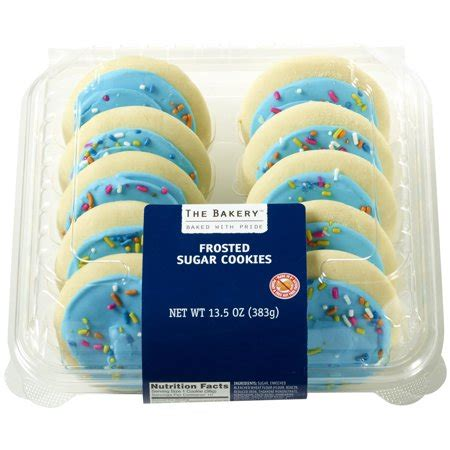 bakery  walmart frosted sugar cookies  oz