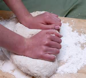 how to knead dough